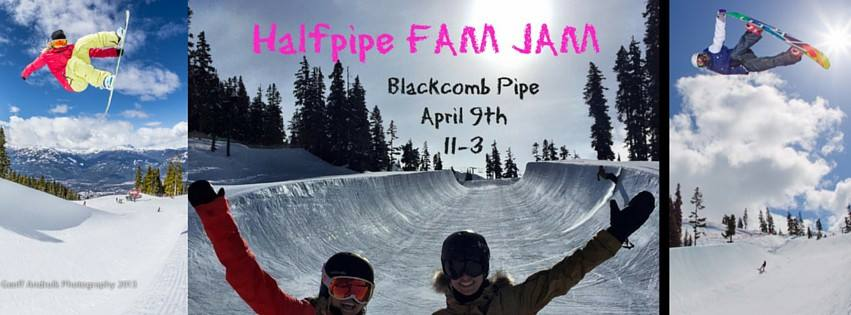 Whistler Half Pipe Jam during WSSF