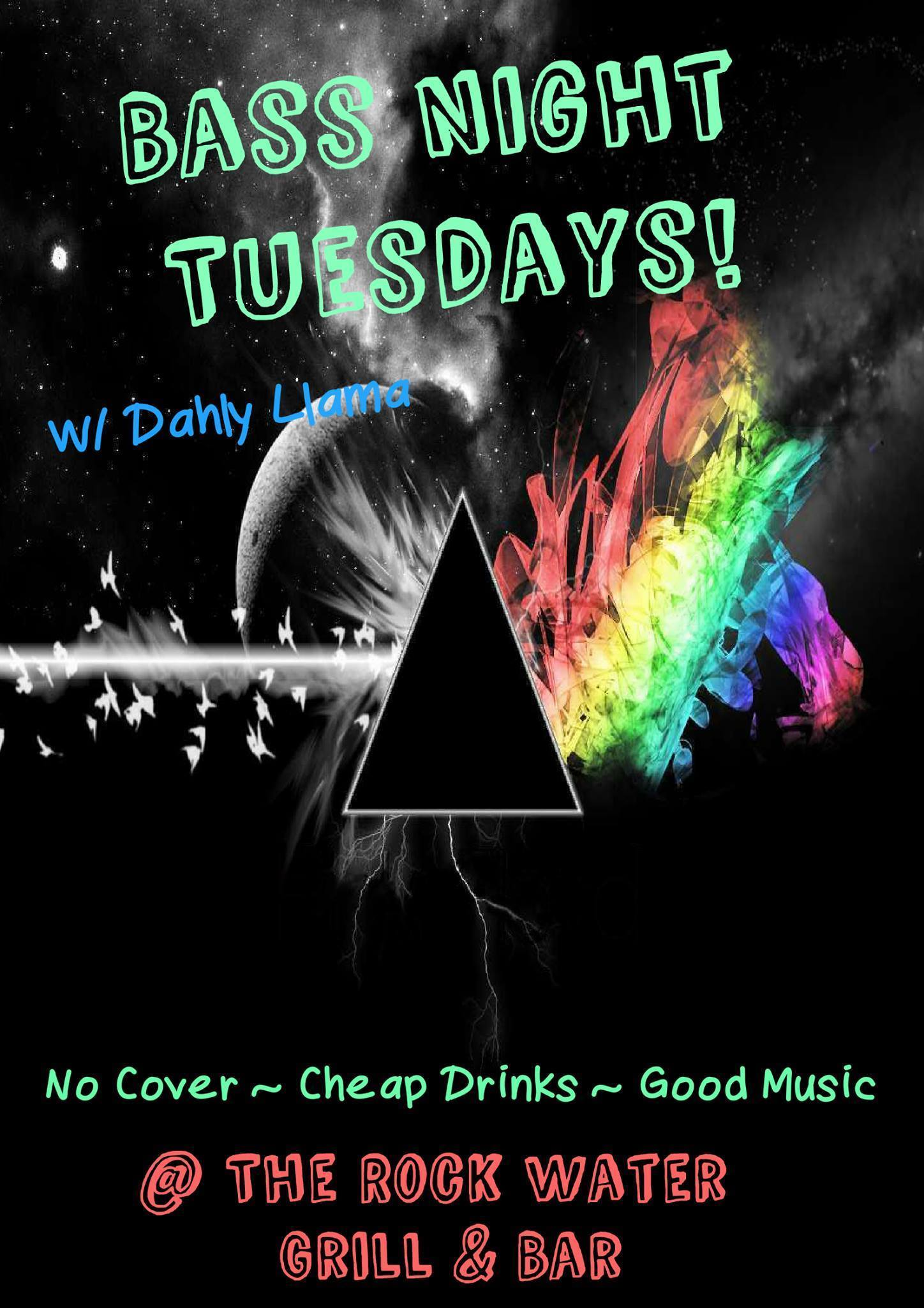 Bass Night Tuesdays at the Rockwater Grill & Bar in Golden