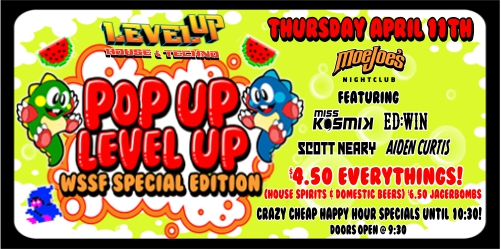 Pop Up Level Up at the WSSF
