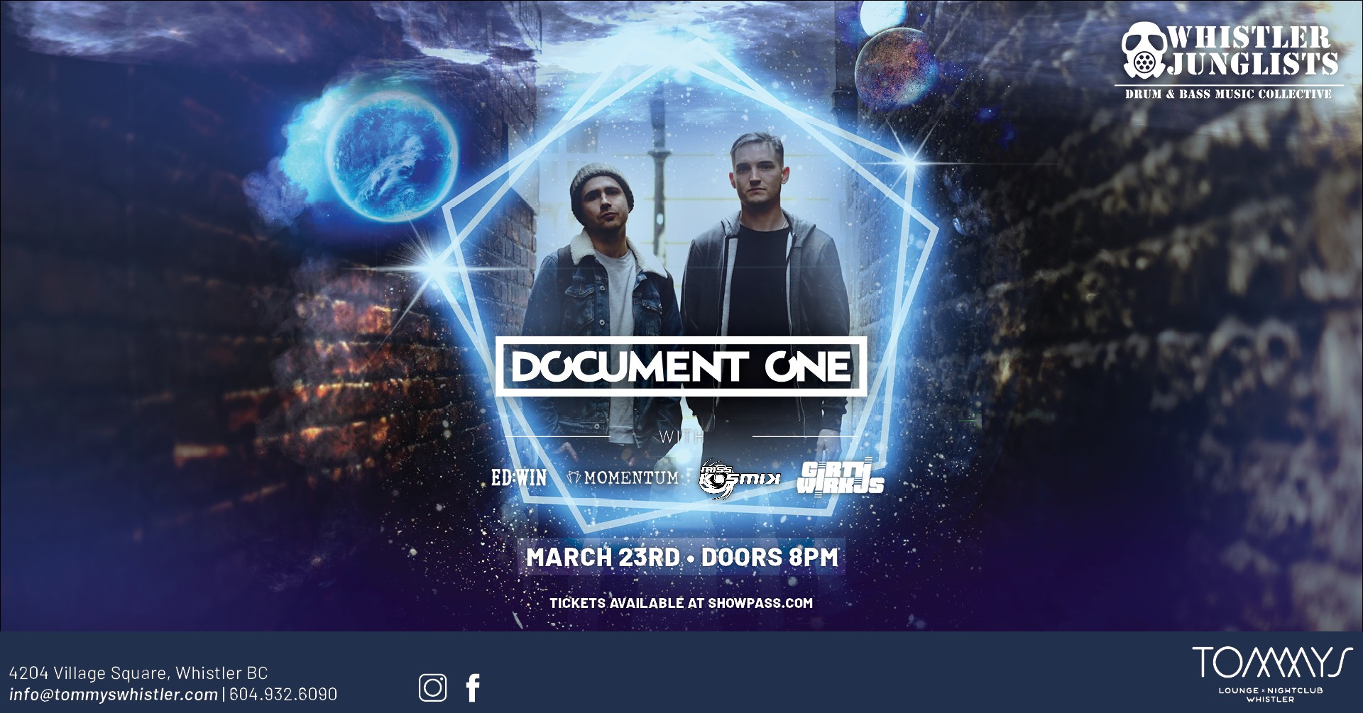 Document One show in Whistler bring the tech drum and bass