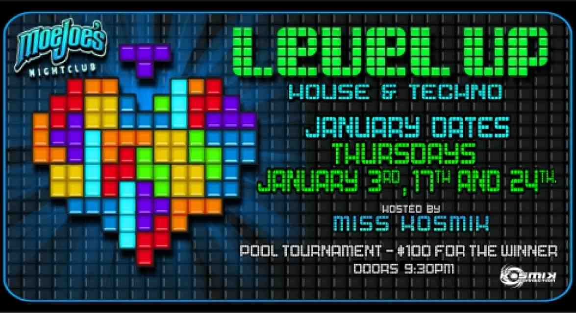 Level Up House & Techno Night in Whistler