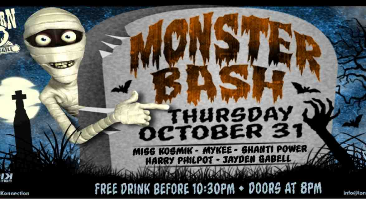 Monster Bash Halloween Whistler Party