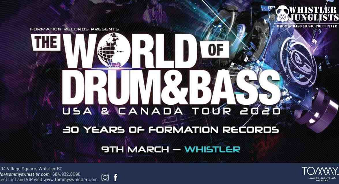 World of Drum & Bass Tour in Whistler